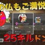 【デンセパ】リーグ戦25Killドン勝動画 【荒野行動】