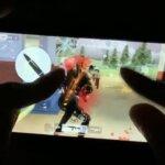 【荒野行動】iPhoneXRの6本指手元(配置公開)