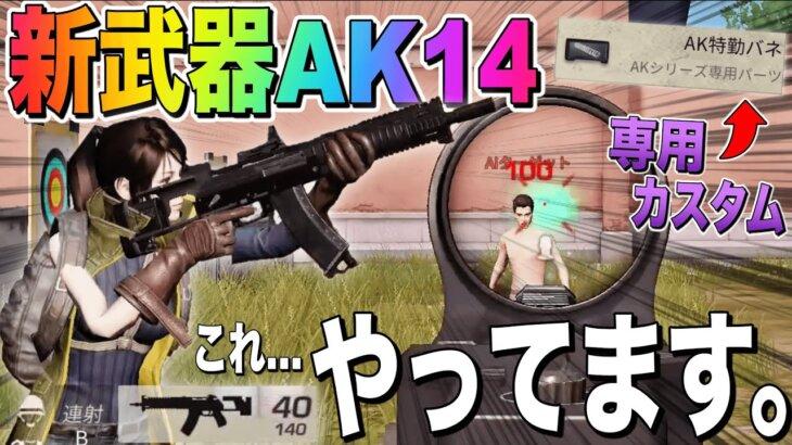 【荒野行動】新武器AK14まさかのヘッショワンパンで最強すぎるwwww
